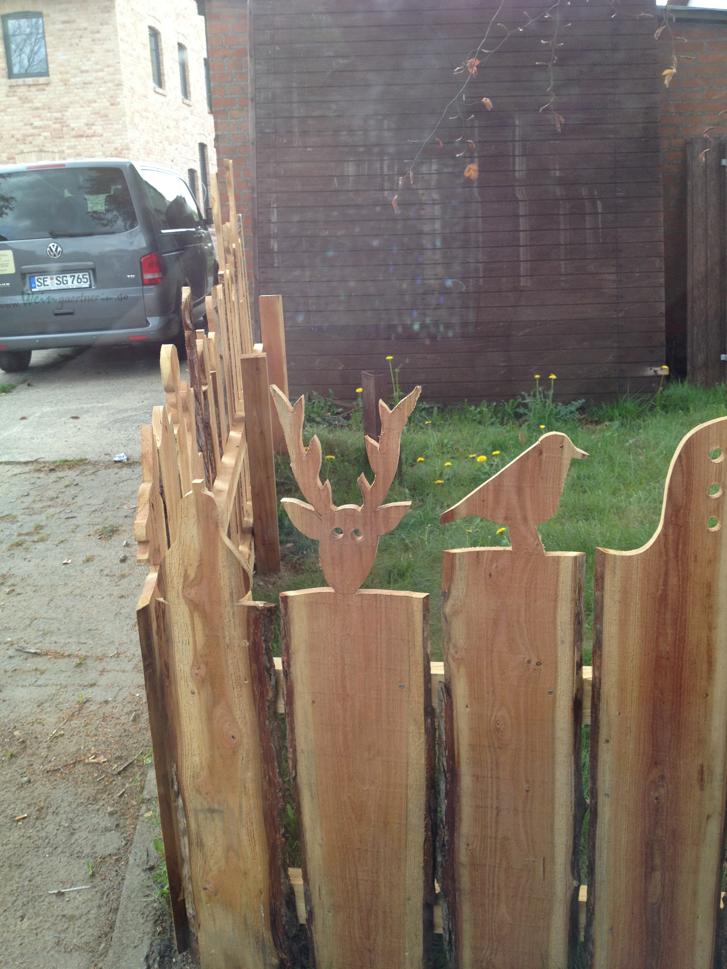 Kreativer Zaun Gartenprinzessin